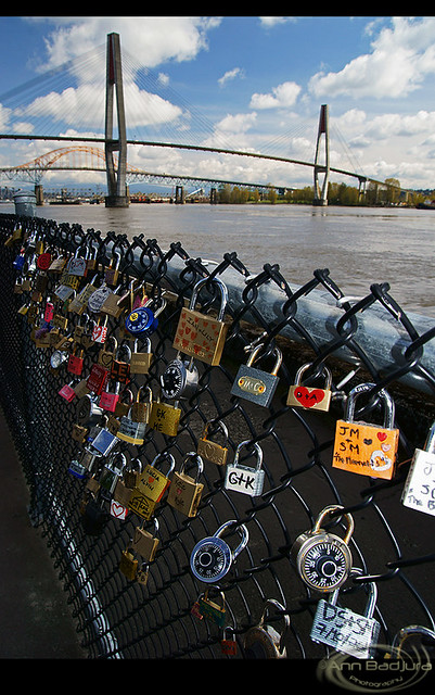 Locks of Love in New Westminster, BC, Canada