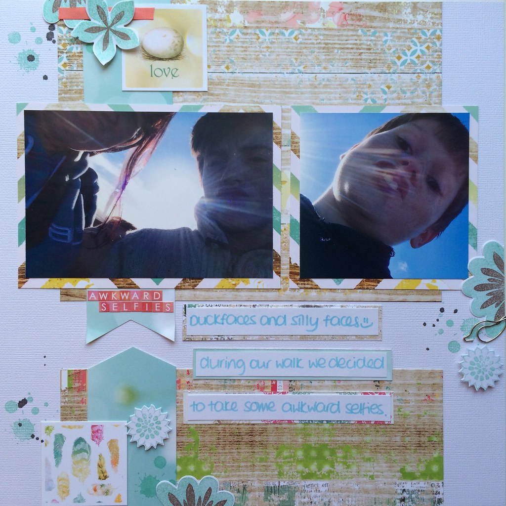 Scrapbooking Layout 12x12 Websters Pages
