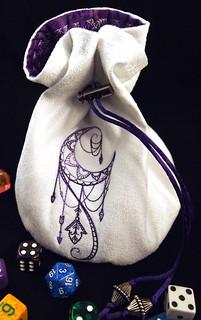 Purple Color Change Talisman Bag