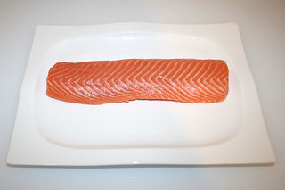 01 - Zutat Lachsfilet / Ingredient salmon filet
