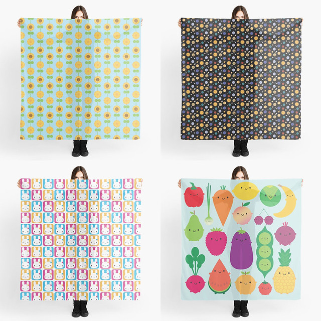 Scarves at Redbubble