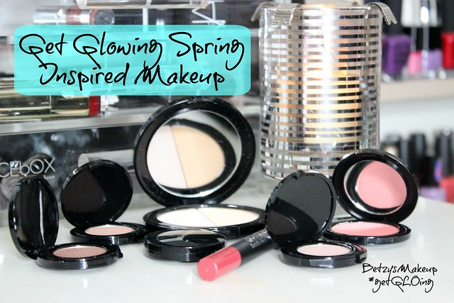 get-glowing-spring-inspired-makeup-#‎getGLOing