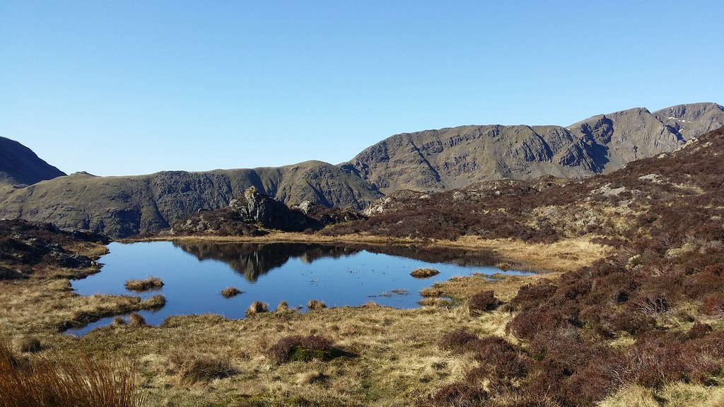 Tarn on Haystacks #sh