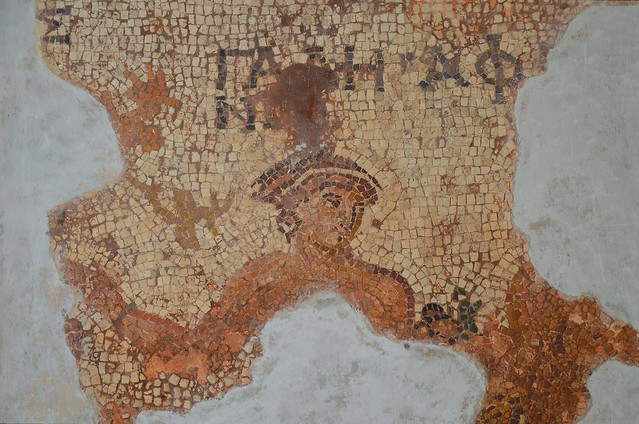 Mosaic depicting Aphrodite, from the east Bouleuterion, 2nd century AD, Aphrodisias Museum, Turkey
