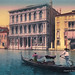 Digital Pastel Drawing of the Ca' Rezzonico Palazzo in Venice by Charles W. Bailey, Jr. by Charles W. Bailey, Jr., Digital Artist
