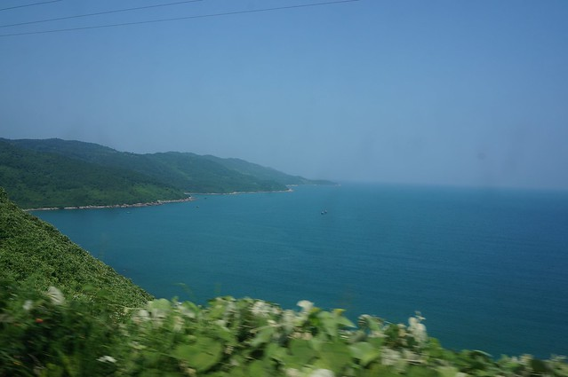 Vietnam coast near Danang