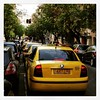 Yellow taxis for blocks