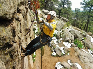 Jill Demonstrating Pass the Knot
