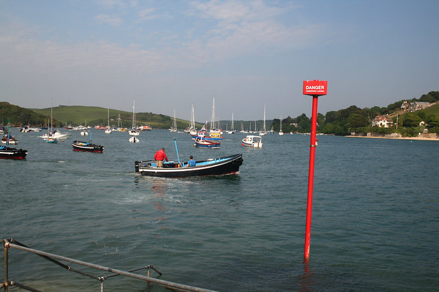The Salcombe to East Portlemouth ferry