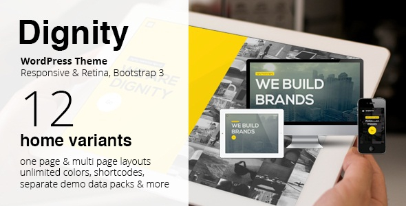 DIGNITY v1.7 - WordPress One Page Responsive Portfolio