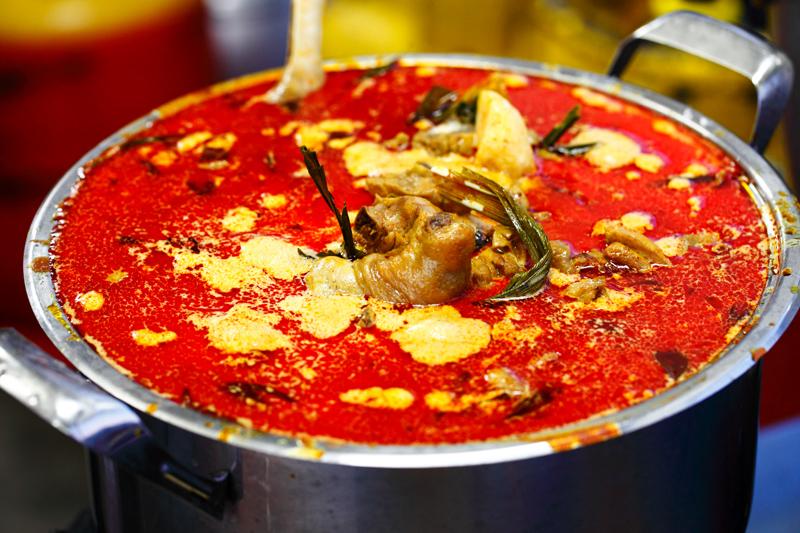 Chicken Curry Pot