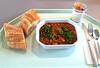 Chili con Carne, Jalapenos & Baguette