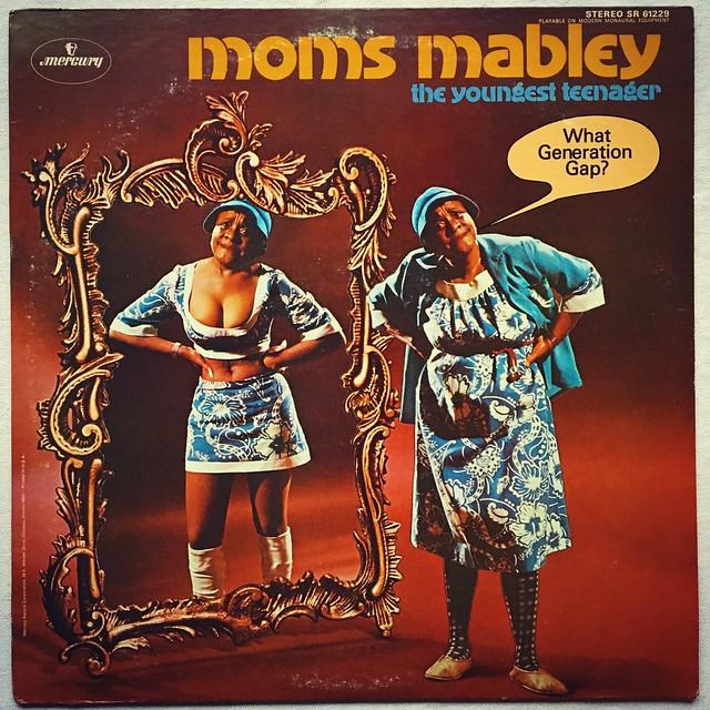 Moms Mabley - 1960s Vintage Vinyl LP Record