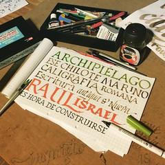 Archipiélago #calligraphy #caligrafia #chiloe