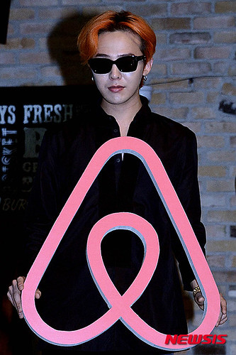 G-Dragon - Airbnb x G-Dragon - 20aug2015 - Newsis - 08