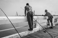 Fishermens bodies..