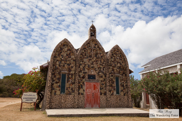 Wallblake Conference Centre (made of rocks), Anguilla