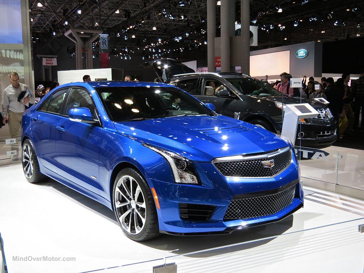 NYIAS 2015 Cadillac ATS-V