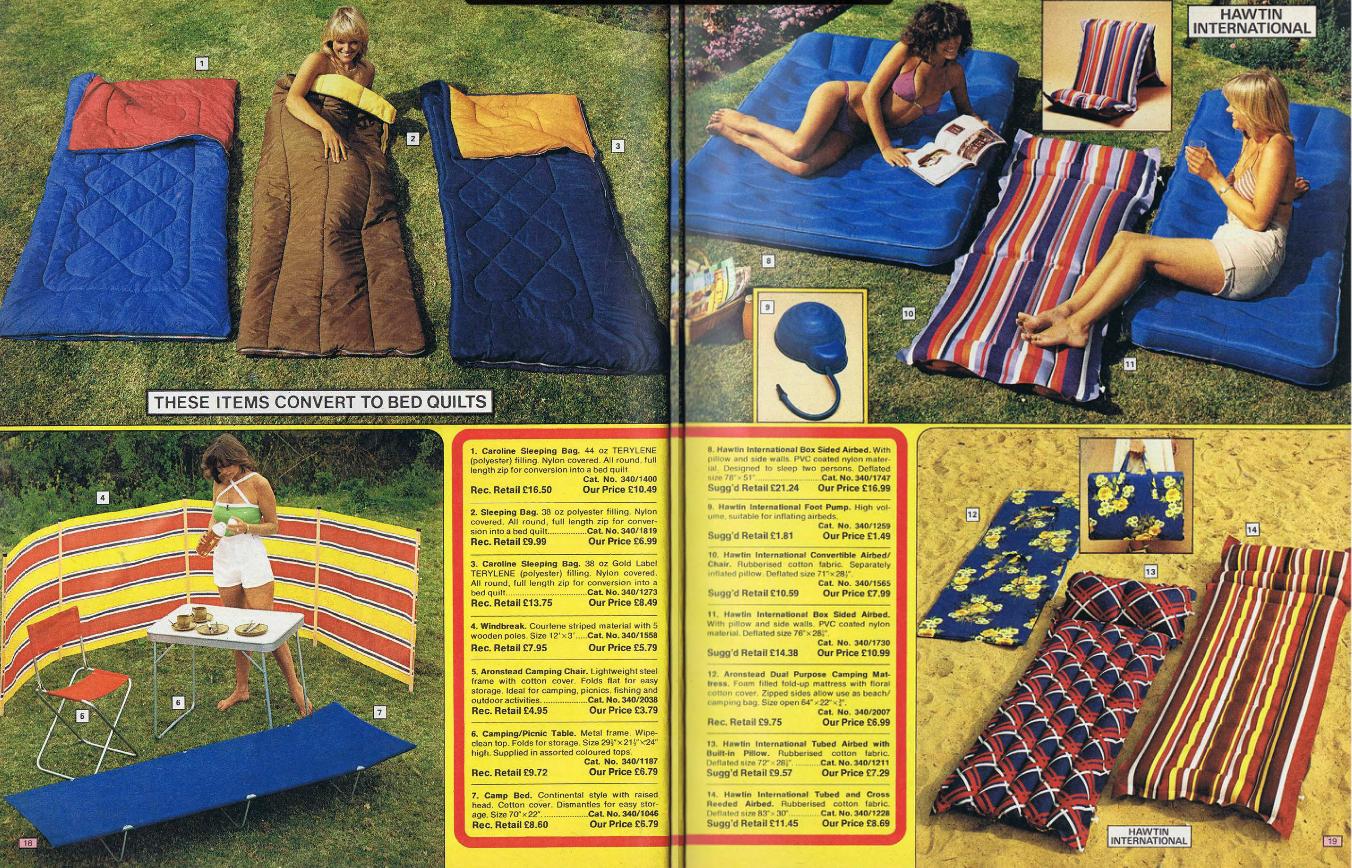 Retrospace: Catalogs #38: Argos Catalogue Babes (1978-1981)
