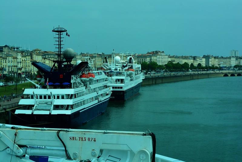 Escale inaugurale du COSTA NeoROMANTICA, Bordeaux, 13 mai 2015