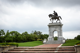 Image of Sam Houston Monument near City of West University Place. park usa nikon texas houston d750 hermann 2015 brandonprice