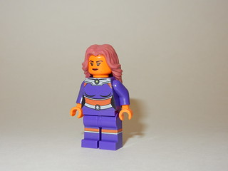 DC Starfire Front (Machine Printed)