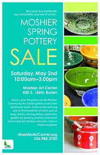 Spring Pottery Sale 2015 Poster