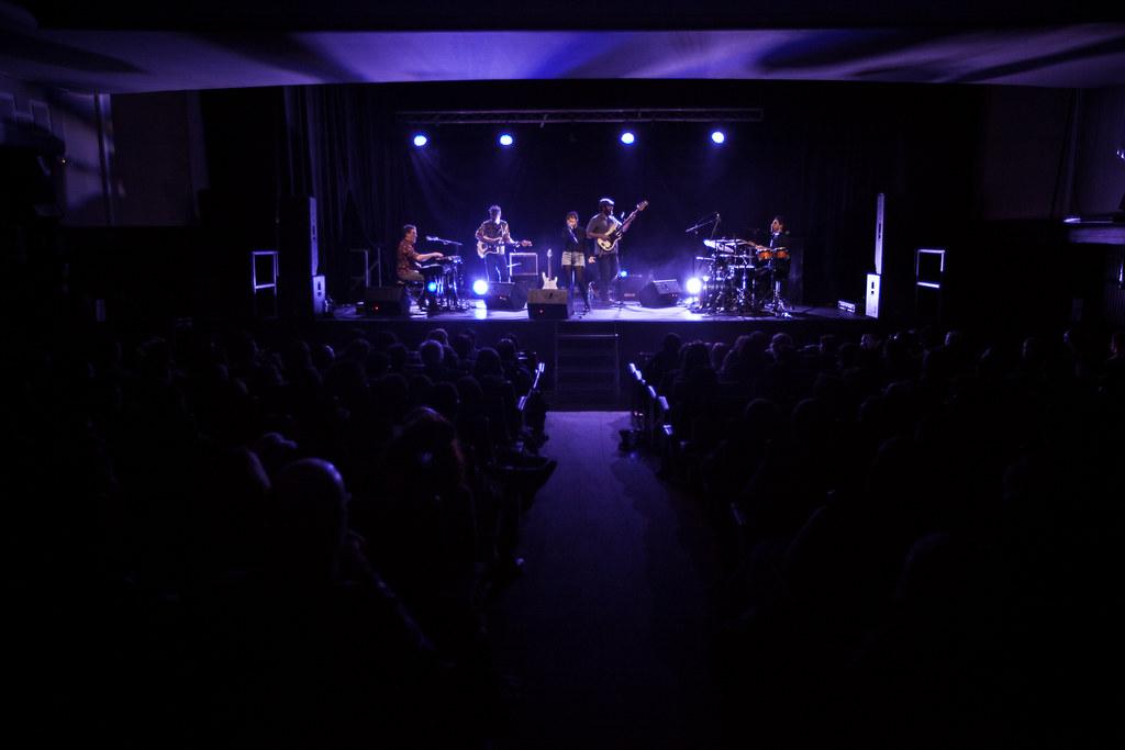 Makala Jazz Funk Band - Cine Modelo aretoa, Zarautz
