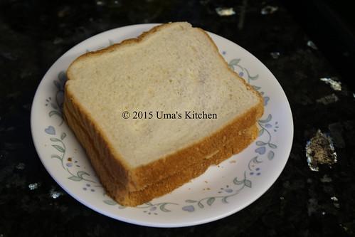 Peanut butter banana sandwich 3