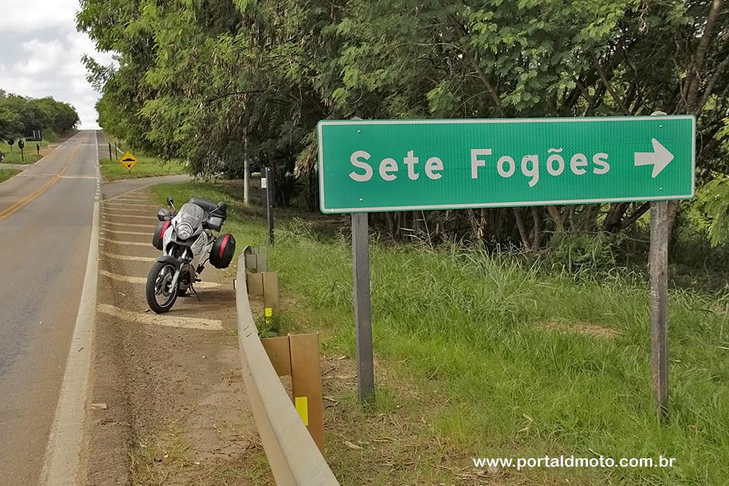 Sete Fogões…uma moto.