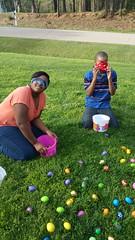 Easter Egg Hunt at Grandma's 2015