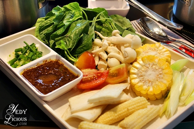 Veggies Four Seasons Buffet HotPot City SM MOA