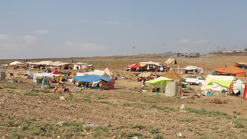Emergency Aid for Displaced Iraqis