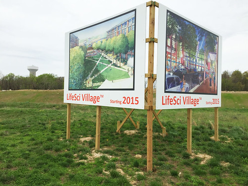 LifeSci Village Signs