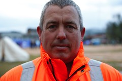 International Search and Rescue team member, Gary Carroll
