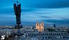 L'archange Saint Michel & Notre-Dame by A.G. Photographe
