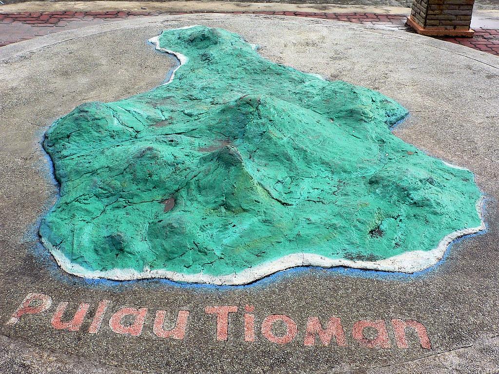 MA170 Mersing Tioman map | Deva Deep | Flickr on