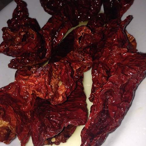 Peperoni cruschi della Lucania #picoftheday