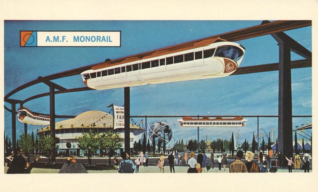 AMF Monorail - New York World's Fair 1964-65