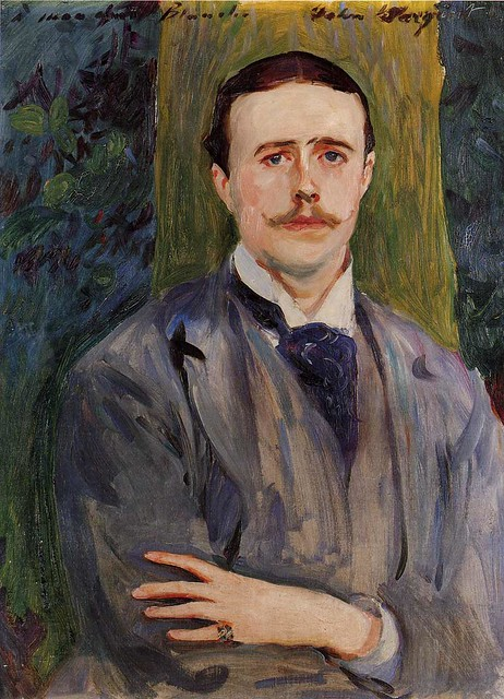 Portrait of Jacques-Emile Blanche by John Singer Sargent, 1886