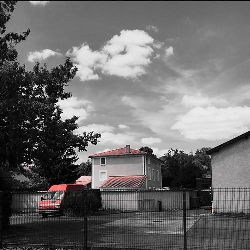 #rouge #moi #couleur #france #lyon #noiretblanc #filtre