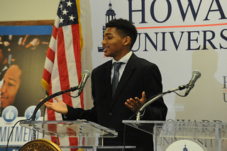 April 8, 2015 DCPS and Howard University New Dual Enrollment Partnership