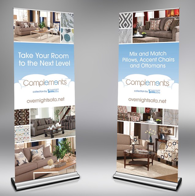 Overnight Sofa Trade Show Banners