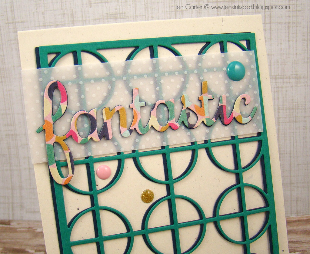 Jen Carter Frantic Stamper Circle Fantastic Closeup