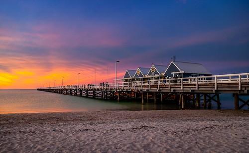 travel sunset colours dusk australia westernaustralia busselton busseltonjettybusseltonwesternaustraliaaustraliaau