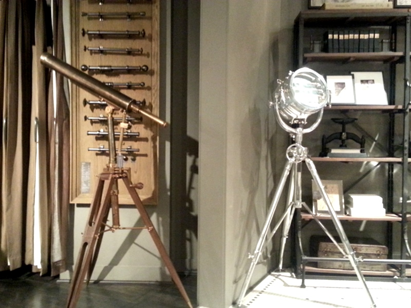 Restoration Hardware telescope