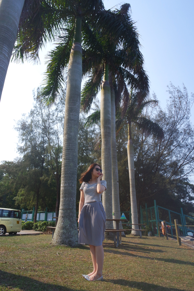 Daisybutter - Hong Kong Lifestyle and Fashion Blog: ootd, how to style midi skirts