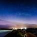 Torquay Beach Aurora Australis Panorama by Quick Shot Photos