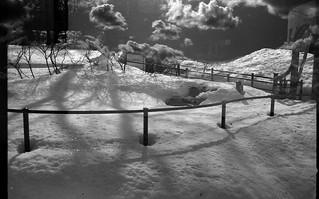 Snow-born clouds