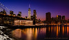 NYC Twilight: Jane's Carousel and Lower Manhattan